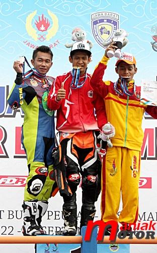Roadrace, PON XIX, Jabar, Rafid Topan, Jogya