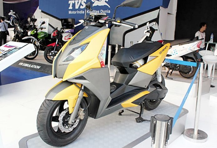 TVS, Motorrad
