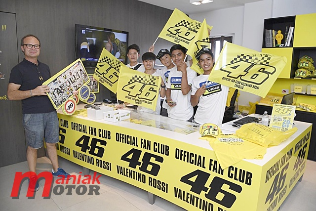 Mengunjungi Fan Club VR46