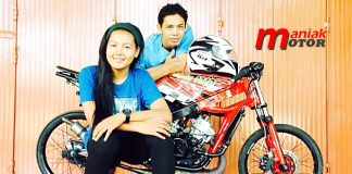 Road Race, drag bike, Rizky