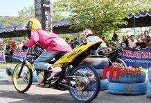 Drag bike, Kajen, Papan Atas,