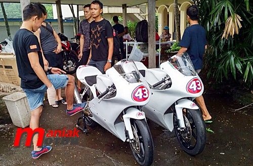 Road race, MP, Sekolah balap, 43 Racing, M.Fadli, Sentul, Jogya
