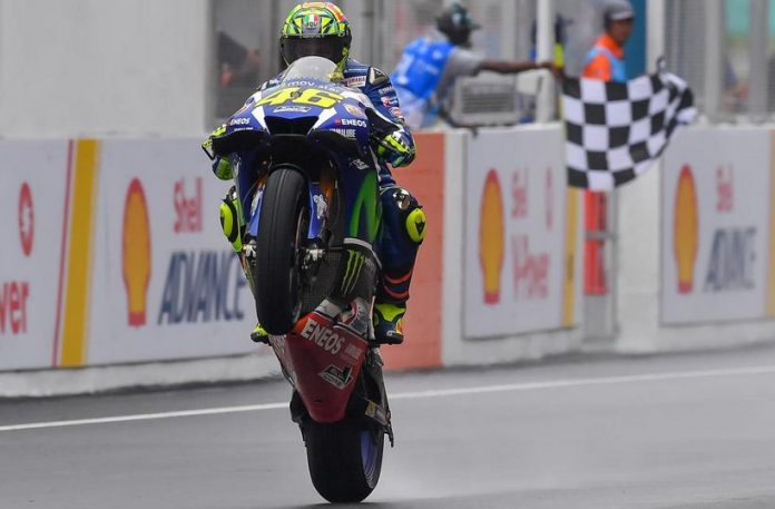 Valentino Rossi Sepang 2016 Pasca Race