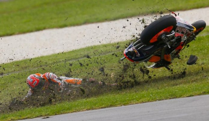 Marquez Kecelakaan