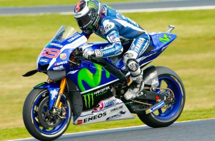 Yamaha M1 Jorge Lorenzo