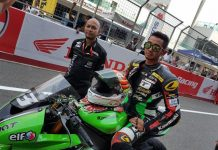 Yudhistira podium ARRC India 2016 Supersport 600