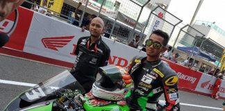 Yudhistira podium ARRC India 2016 Supersport 600