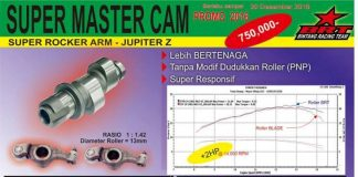 Super cam dan super rocker arm BRT