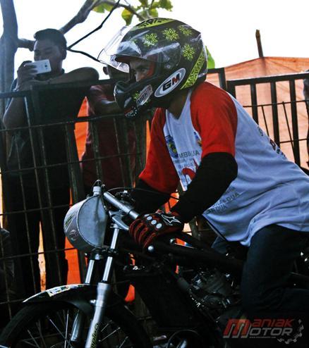 Cara start Eko Chodox drag bike