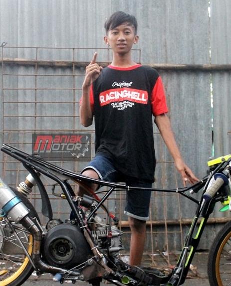 Gery Parcel drag bike Jawa Timur