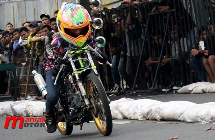 Drag Bike Cilacap, Drag Bikr Gery Parcel, Balap Benaran