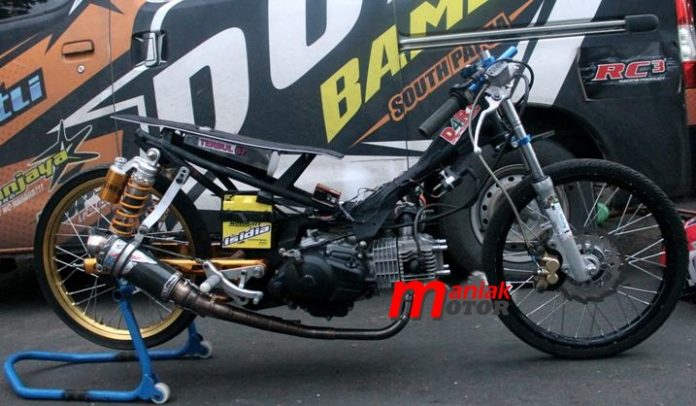 Jupie (Jupiter Z) 130 Drag Bike MBKW2