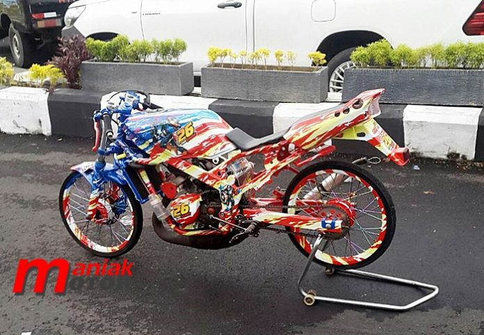 Foto sepeda motor ninja 4