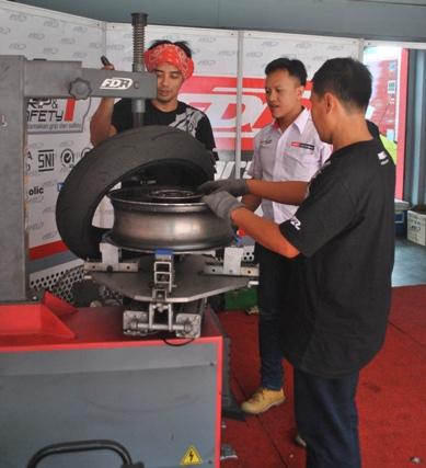 FDR peduli Balap Indonesia
