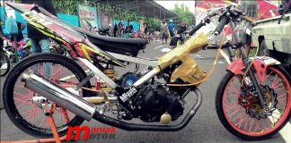 Suzuki FU 150 Std Drag Bike