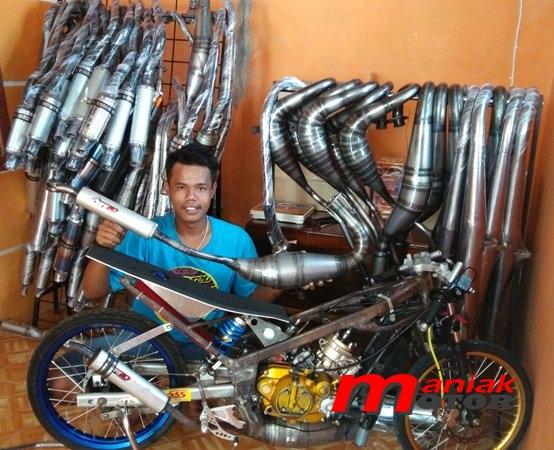 Knalpot Racing Motor, Knalpot ABRT 20, Knalpot Racing Drag Bike