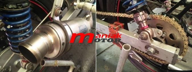 knalpot R9 balap motor