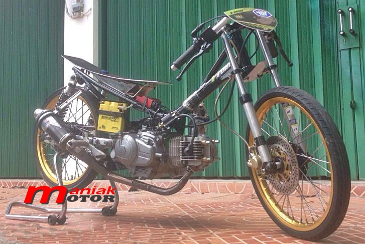 Jupiter Z Drag Bike Jagoan Indonesia