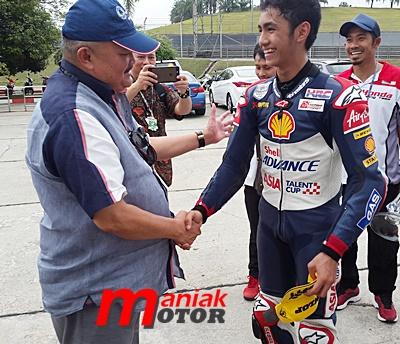 MotoGP, sepang, Andi Gilang, Indonesia, jakabaring