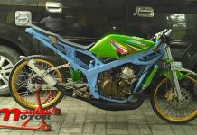 Ninja Std 155 Drag Bike