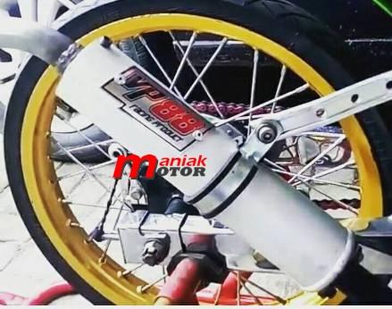 Knalpot Ninja drag bike