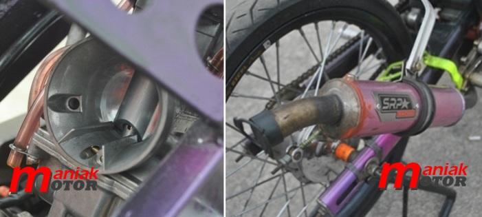 Karbu Ninja 150 drg bike