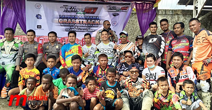 Motocross, Papua, Doni Tata, Josua, Grasstrack