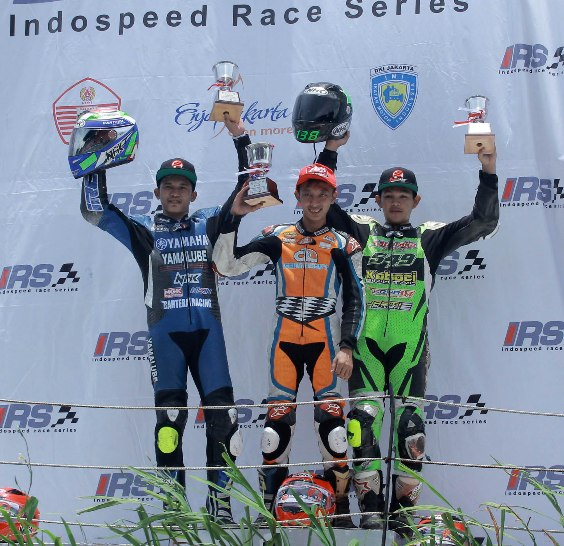 Kelas 150 cc juga sama saja, jago podium dan klasemen