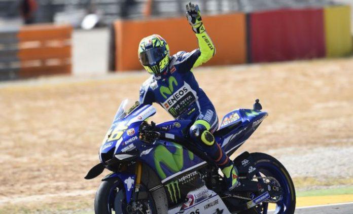 Valentino Rossi Yamaha M1 Oke