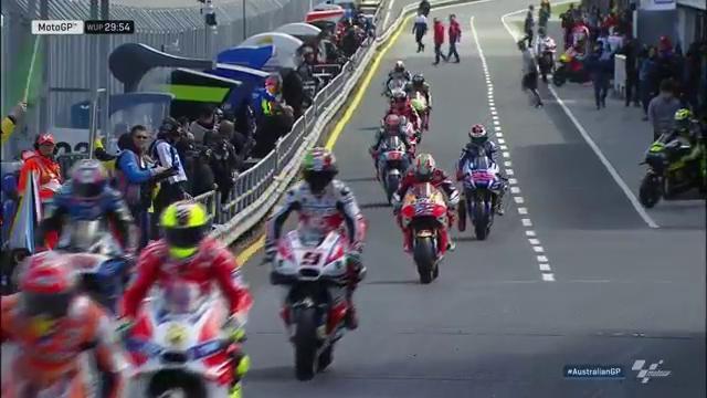 Warm up MotoGP Australia