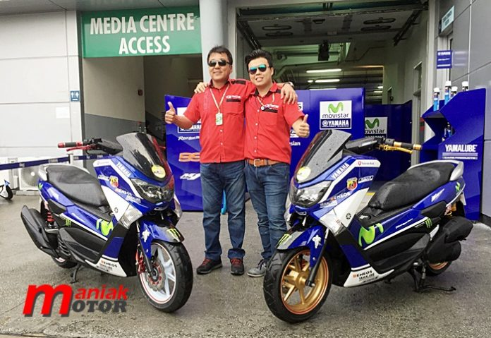MotoGP, sepang, yamaha, paddock, NMAX