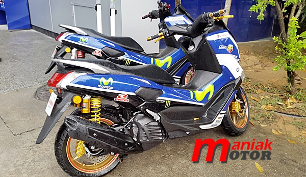 MotoGP, sepang, modifikasi, NMAX