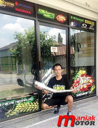 Drag bike, Dadang, hadaru, Knalpot, usaha