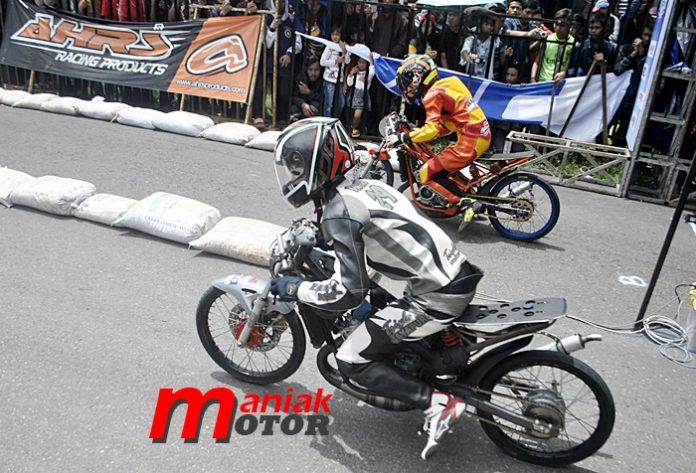 Drag bike, Dadang, Hadaru, senior, usaha, knalpot