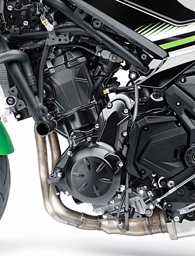 Kawasaki, Z650, naked, mesin
