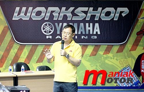 Roaad race, yamaha, Workshop, Edukasi, OMR YSR