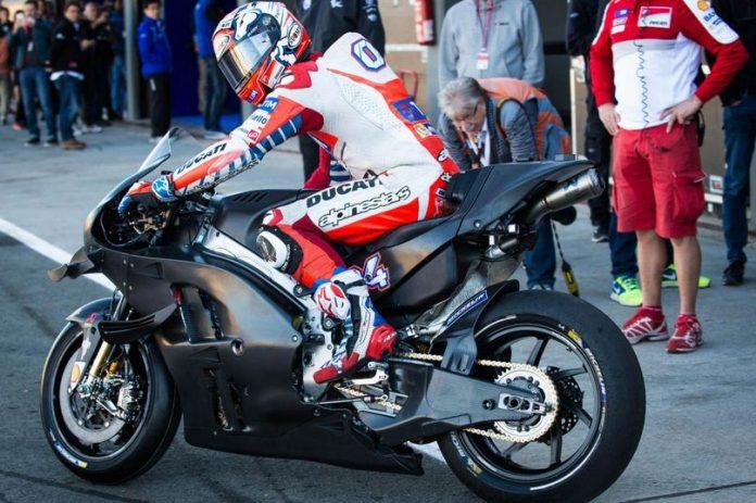 Ducati GP17 test Valencia