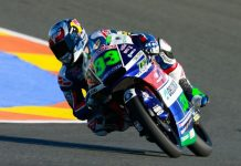 Enea Bastianini FP2 Moto3 Valencia 2016