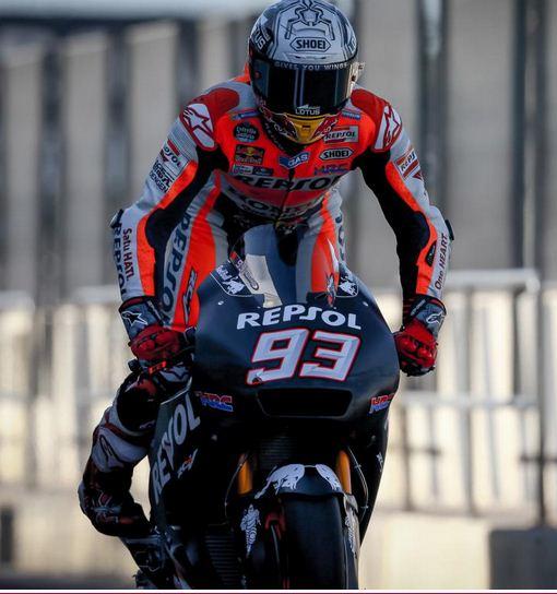 Marc Marquez dengan RC213V 2017