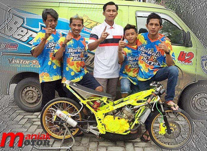 Drag Bike, Berkah Sari, lampung, Padang