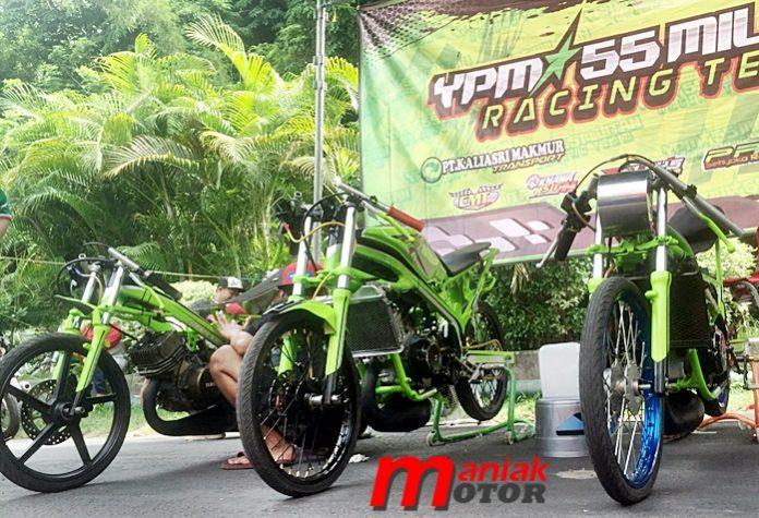 Drag bike, YPM 55 Militan, Malang, Jatim