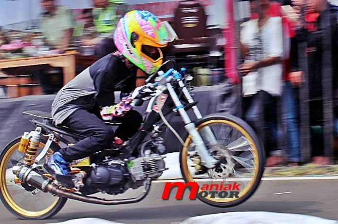Jupie 130 MBKW2 Drag Bike