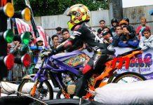 Alvan Cebonk jagoan drag bike