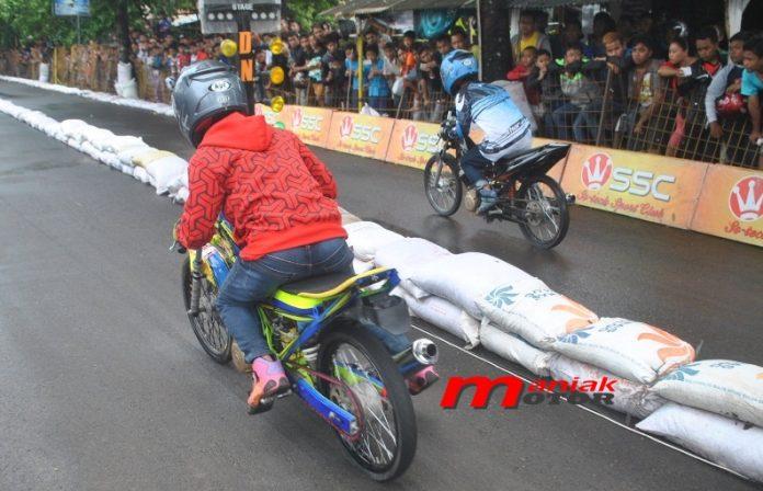 Drag bike 2016 Wonosobo, Jateng