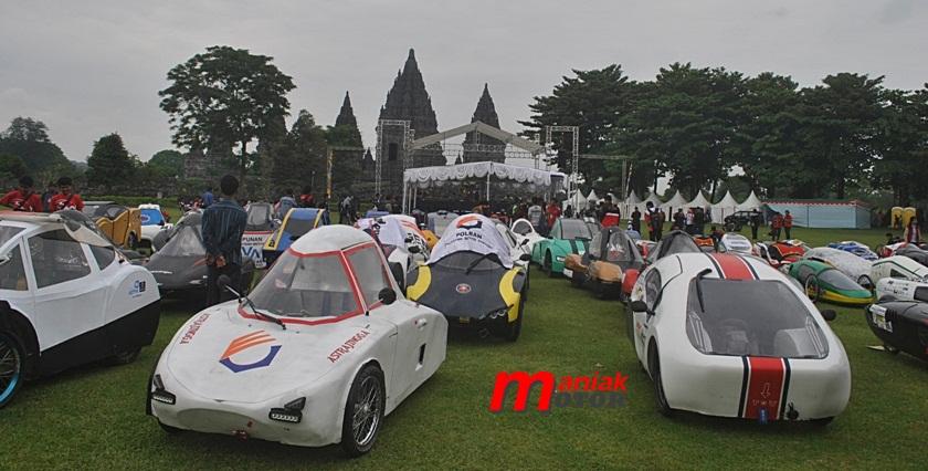 Kontes mobil hemat energi di Jogja