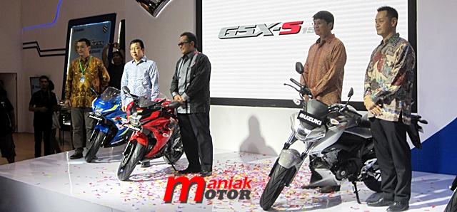 Suzuki, IMOS, GSX-R150, GSX-S150, Jakarta, Indonesia