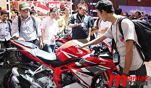 Honda, CBR250RR, motor sport, Jakarta, Indonesia