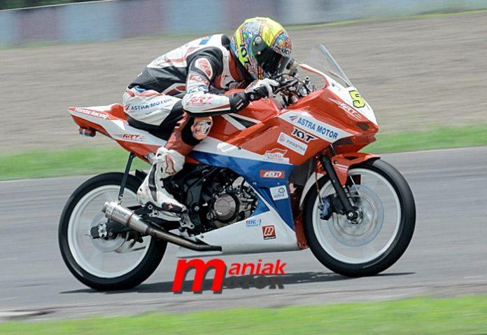 Road race, IRS, Sentul, Bogor, Sudarmono
