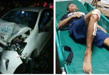 Dadang Japronk kecelakaan lalu lintas