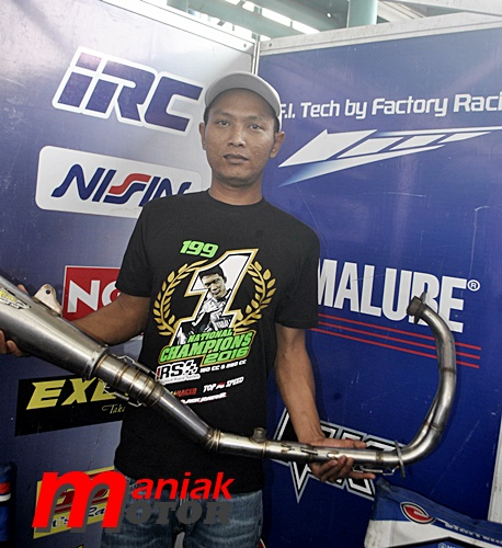Road Race, Tris Wahyudi, IRS